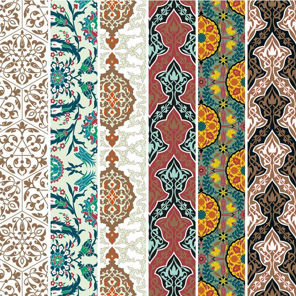 Persian Patterns: Persian Designs Wrapping Paper