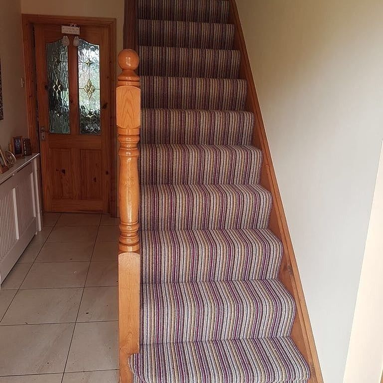 Recently Fitted 100 Wool Crucial Trading On 11mm Ultra High Density Underlay Splash Of Colour Carpets Cork Chris Carpet Stairs Floor Coverings Flooring