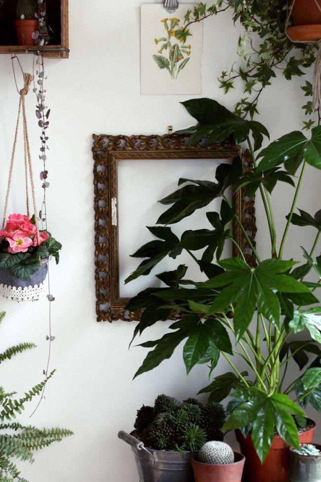 handmade hanging planters