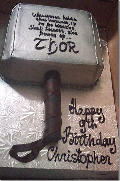 Its Hammer Time With These Terrific Thor Cakes