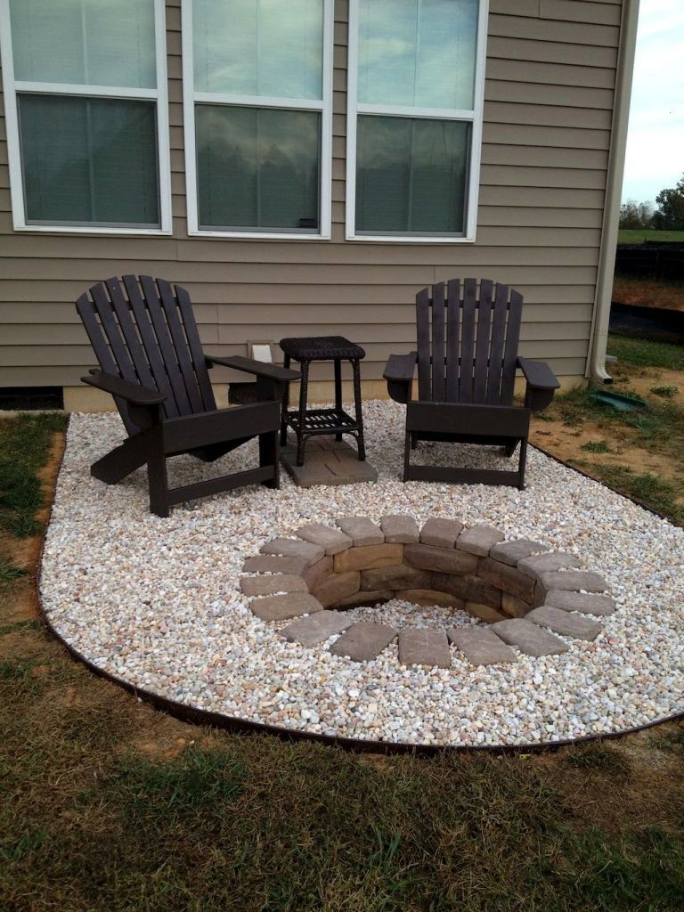 Spaciroomcom Landscaping Backyard Cheap Ideas Easy Fire And Pit 7575 Easy And Cheap Fire Pit And Backy Cheap Fire Pit Backyard Fire Fire Pit Backyard