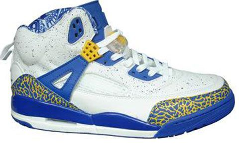 detailed look 76f0d 43dad Jordan Shoes Air Jordan Spizike Do The Right Thing White Blue  Air Jordan  Spizike - Want to stand out in the crowd  Wear this pair of Air Jordan  Spizike Do ...