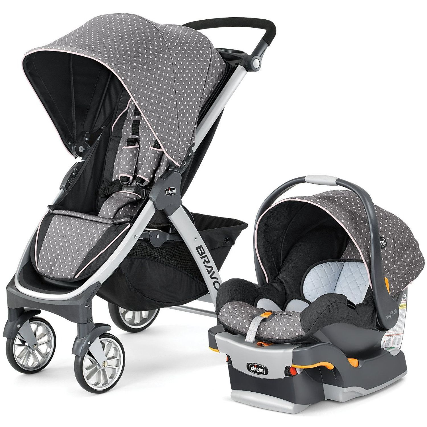The Chicco Bravo Stroller is the new, innovative trimodal