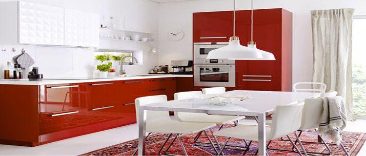 10 cuisine rouge qui donnent des idées de décoration kitchens