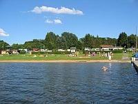 Krombachtalsperre Krombachstausee Badesee Ausflug See