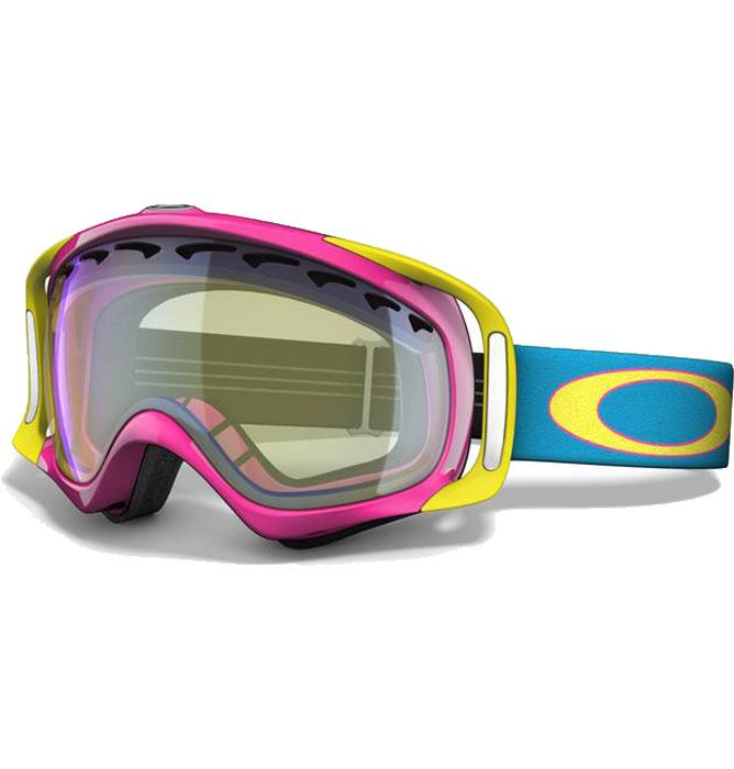 ec9f307c2d80 Oakley Crowbar Goggles - Hot Pink H.I. Yellow - F11