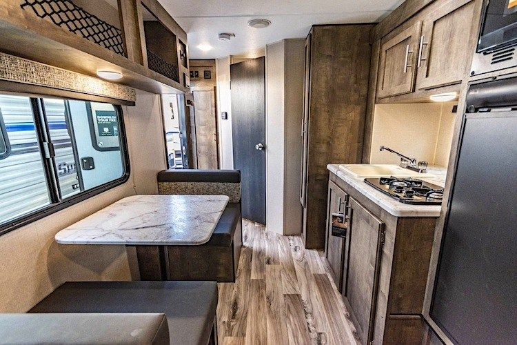8 Best Small Camper Trailers with Bathrooms | Small ...