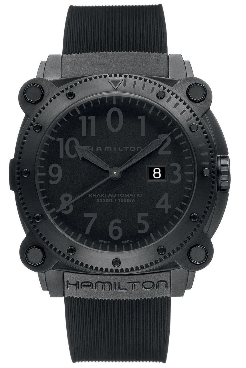 The Martian Movie Watch: Matt Damon Wears A Hamilton Khaki Navy BeLOWZERO