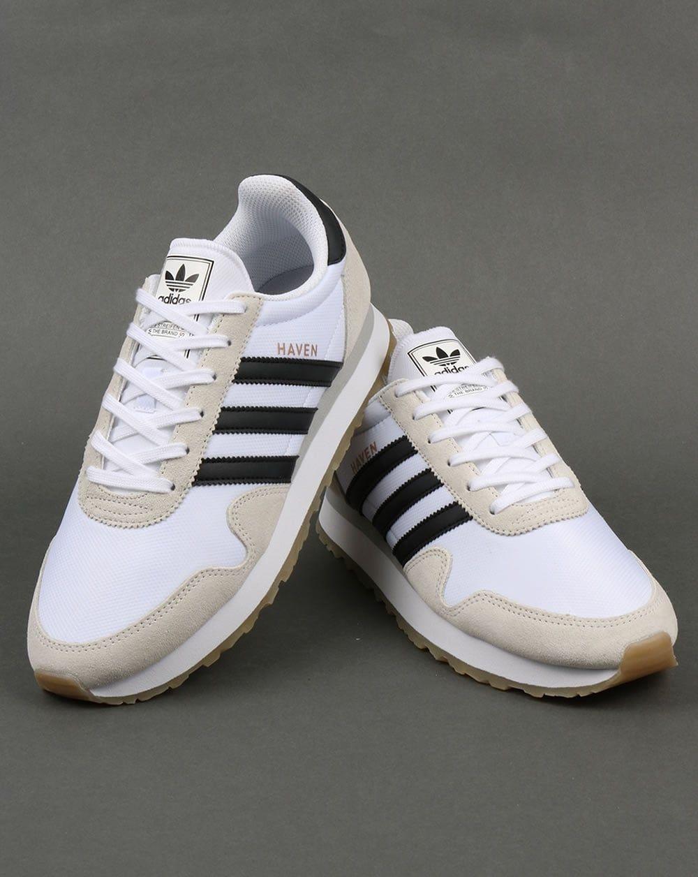 adidas haven trainers gum shoes mens