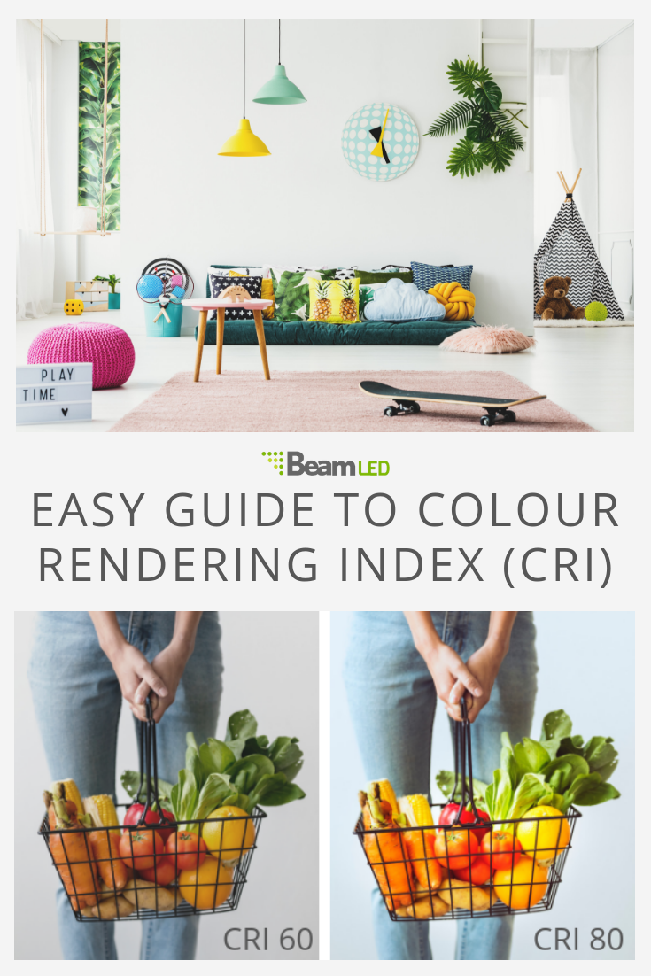 Easy Guide to Colour Rendering Index (CRI) | 1 Energy | Make color