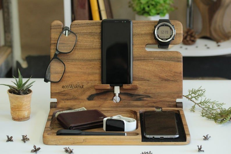 Docking Station Wireless Charger Phone Stand Desk