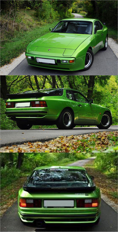 Porsche 944 Euro Spec In Custom Green With 951 Rear Diffuser And 15in Fuchs Porsche 944 Porsche Porsche 924
