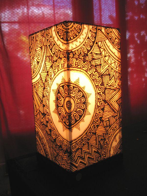 Henna Lamps by Humna Mustafa, via Behance | Light up the Night ...