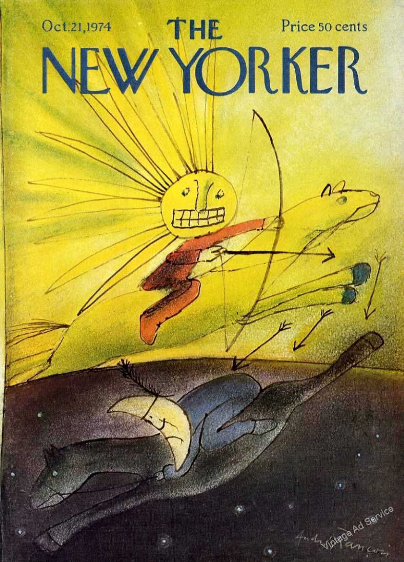 The New Yorker, October 21,1974, André Francois