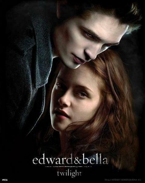 Twilight Edward And Bella Mini Poster 40cm X 50cm New And