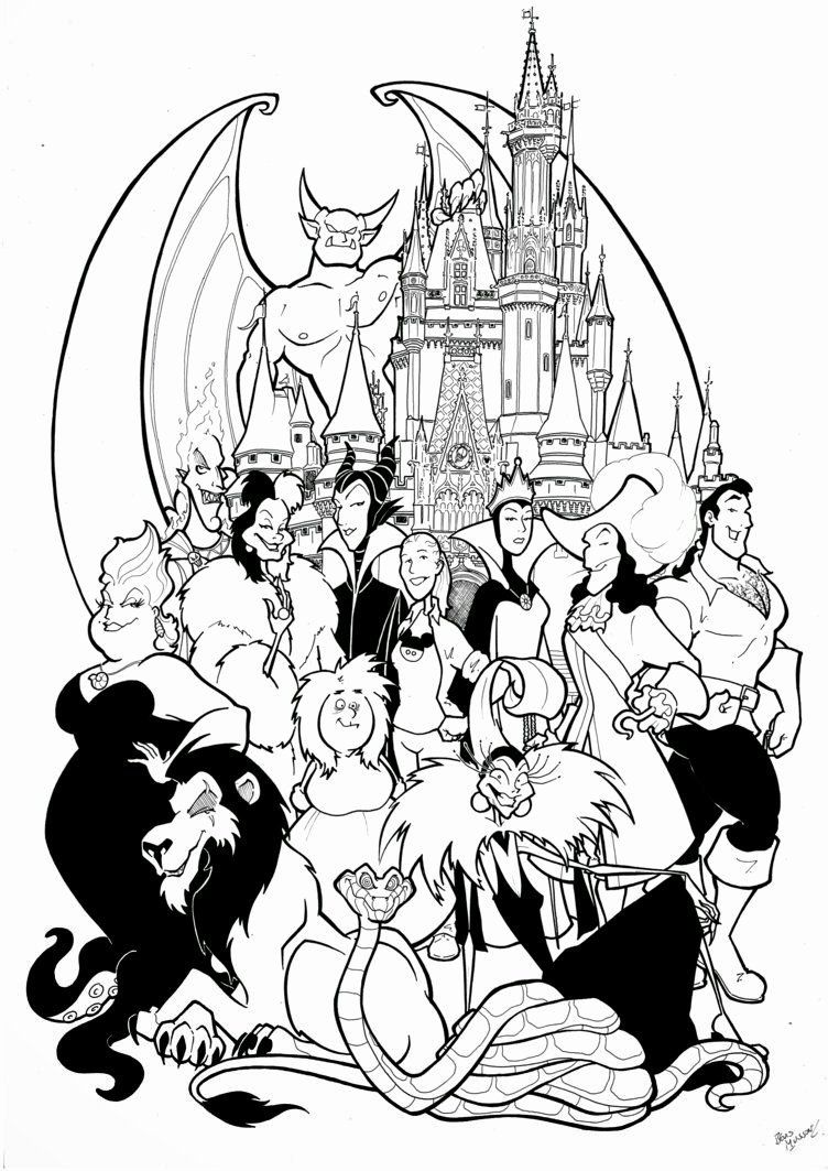 Disney Printable Easy Coloring Pages Free Disney Coloring Pages Disney Coloring Pages Cute Coloring Pages
