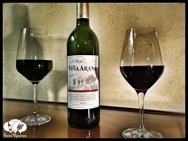 Score 90/100 Wine review, tasting notes and information about 2008 La Rioja Alta SA Vina Arana Reserva, Spain. Complex, dark, roasted wine aged American oak