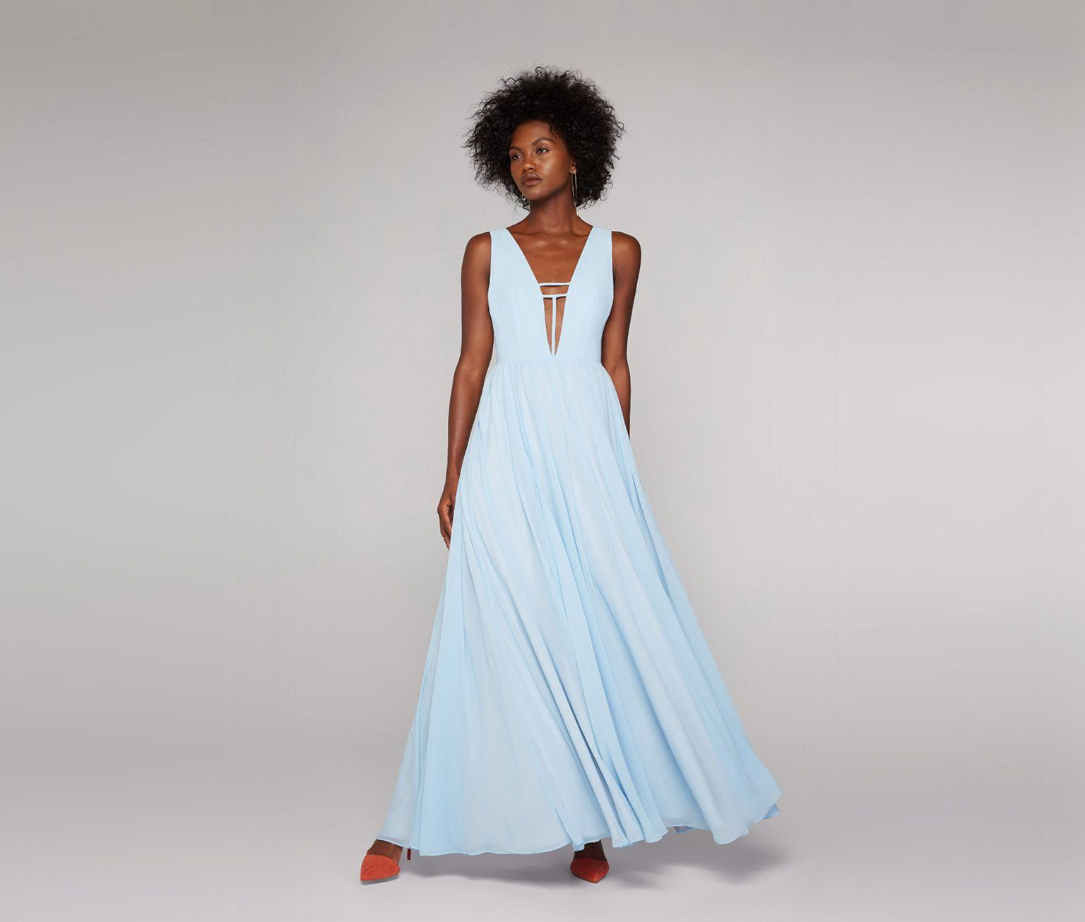 Ice Blue Summer Angel Dress Fame Partners Usa Summer Formal Dresses Pale Blue Bridesmaid Dresses Custom Prom Dress [ 1306 x 1536 Pixel ]