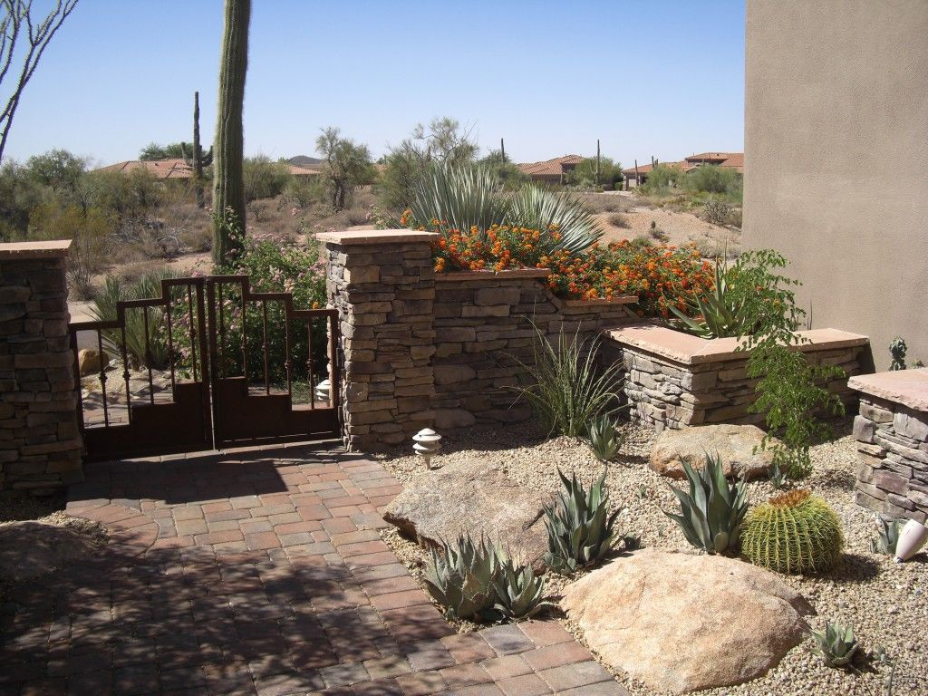 Low Maintenance Beauty In Arizona Landscapes And Gardens