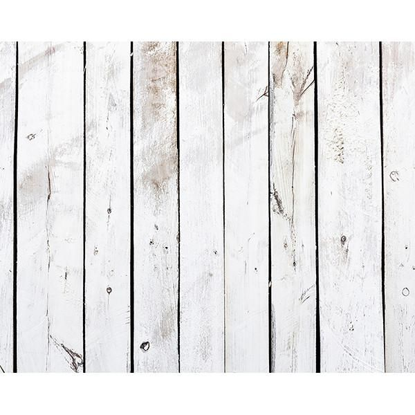 Pale Wood Wall Mural White Washed Wood Decal Reclaimed