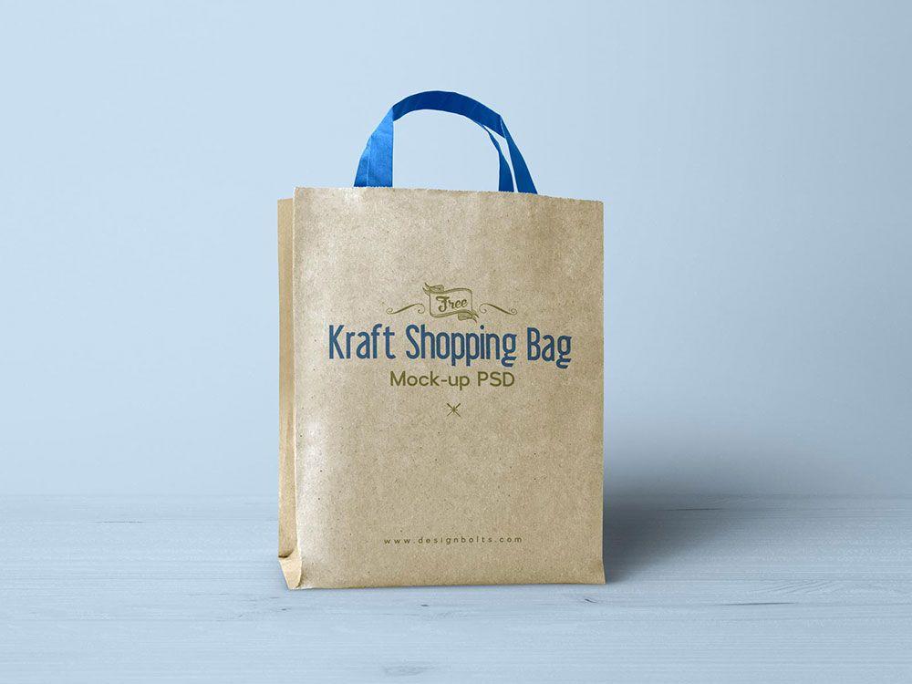 Download Free Kraft Paper Shopping Bag Mockup Mockuptree Bag Mockup Paper Shopping Bag Bags