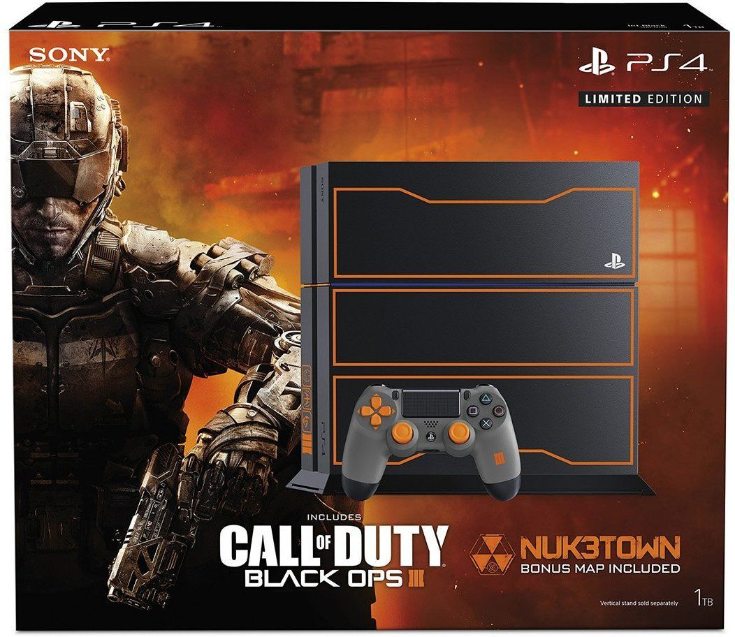 Sony Playstation 4 1tb Console Call Of Duty Black Ops 3 Limited