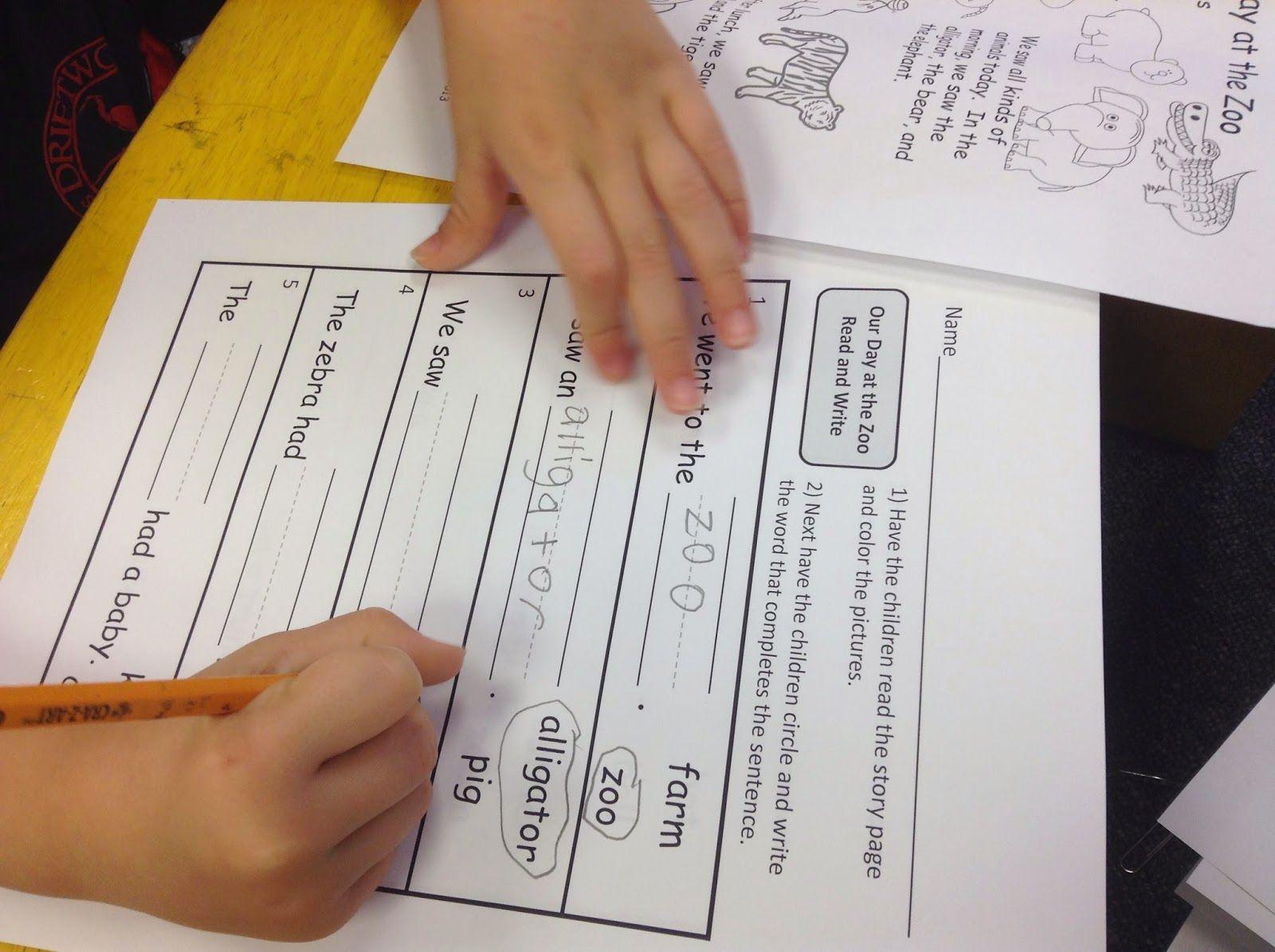 Zoo Animal Literacy And Math Unit