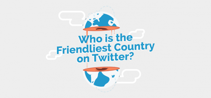 Who is the friendliest county in the world? We've just found out the definite answer for this question.