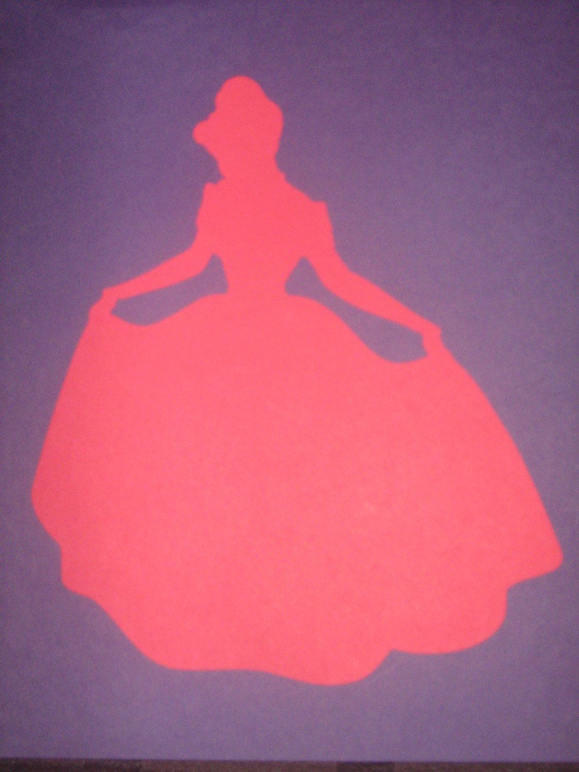 Disney Princess Cinderella Silhouettes for framing, birthday parties ...