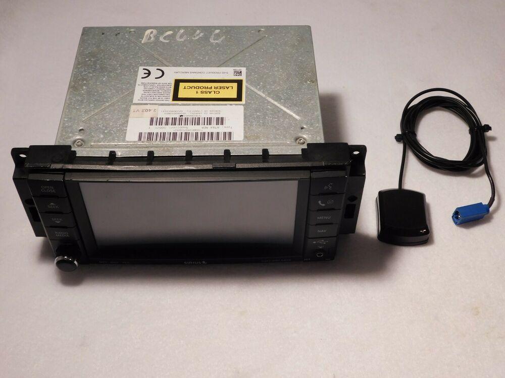2007 10 Chrysler Dodge Jeep Navigation Gps System P05064401ai With