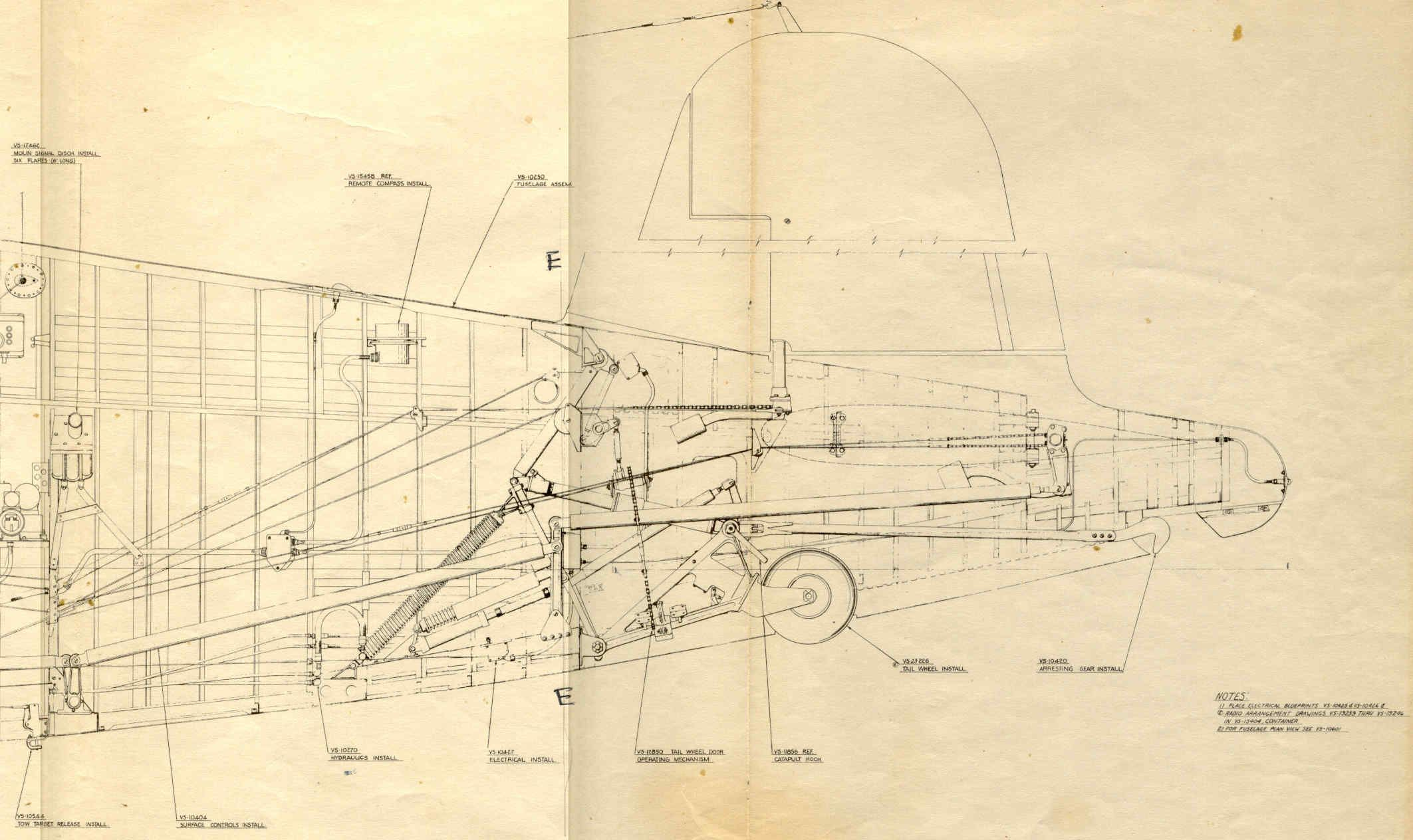 Click this image to show the full size version aircraft corsair construction drawings needed malvernweather Choice Image