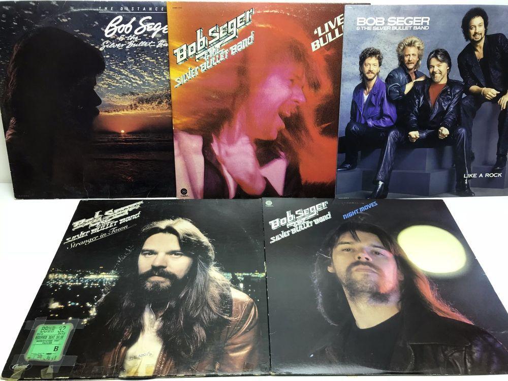 Bob Seger Lp Vinyl Record Album Lot Night Moves Stranger In Town Like A Rock Stores Ebay Com Capcollectibles Vinyl Records Vinyl Record Album Lp Vinyl