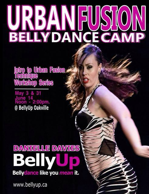 Urban fusion with Danielle Davies at BellyUp Oakville with a new series of workshops. #urbanfusion