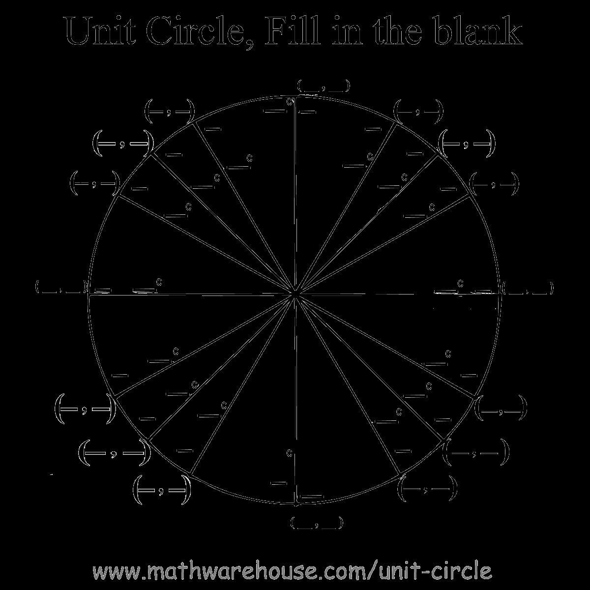 Unit Circle Practice Worksheet Fresh Of Unit Circle