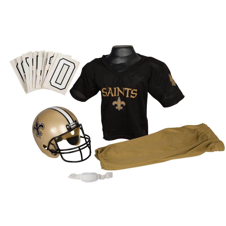 09862c84f Franklin Sports NFL New Orleans Saints Youth Uniform Set