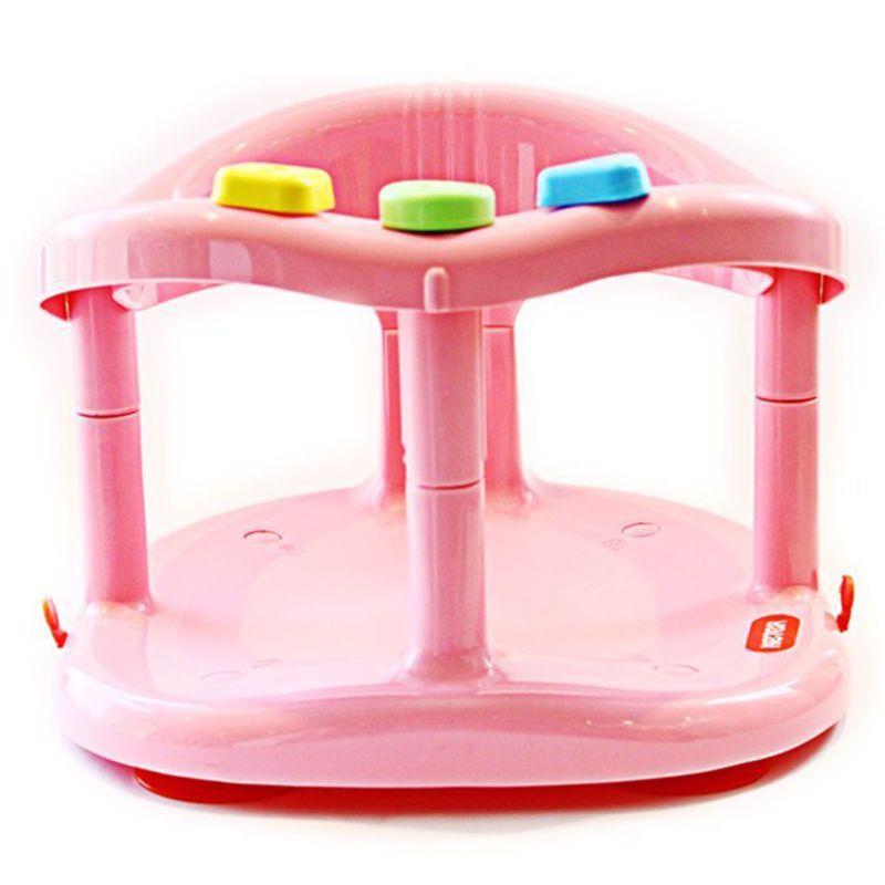 KETER Baby Bath Seat Ring Chair Tub Infant Toddler Bathtub Fun Wash ...
