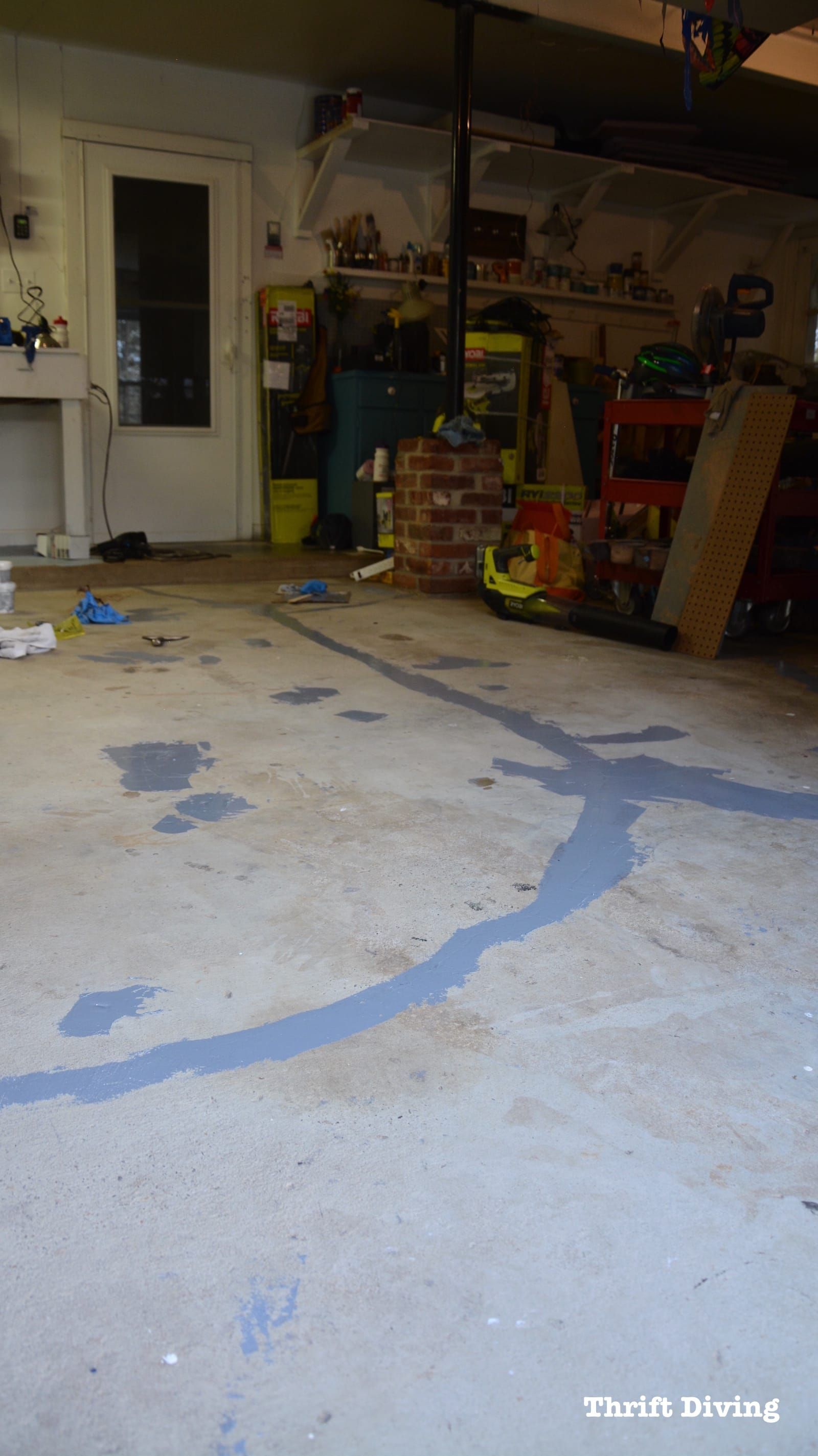 How To Paint Garage Floors With 1 Part Epoxy Paint In 2020 Garage Floor Epoxy Garage Floor Paint Vinyl Garage Flooring