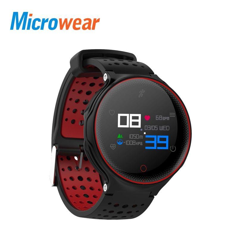 Microwear X2 Plus Smartwatch Waterproof IP68 Bluetooth