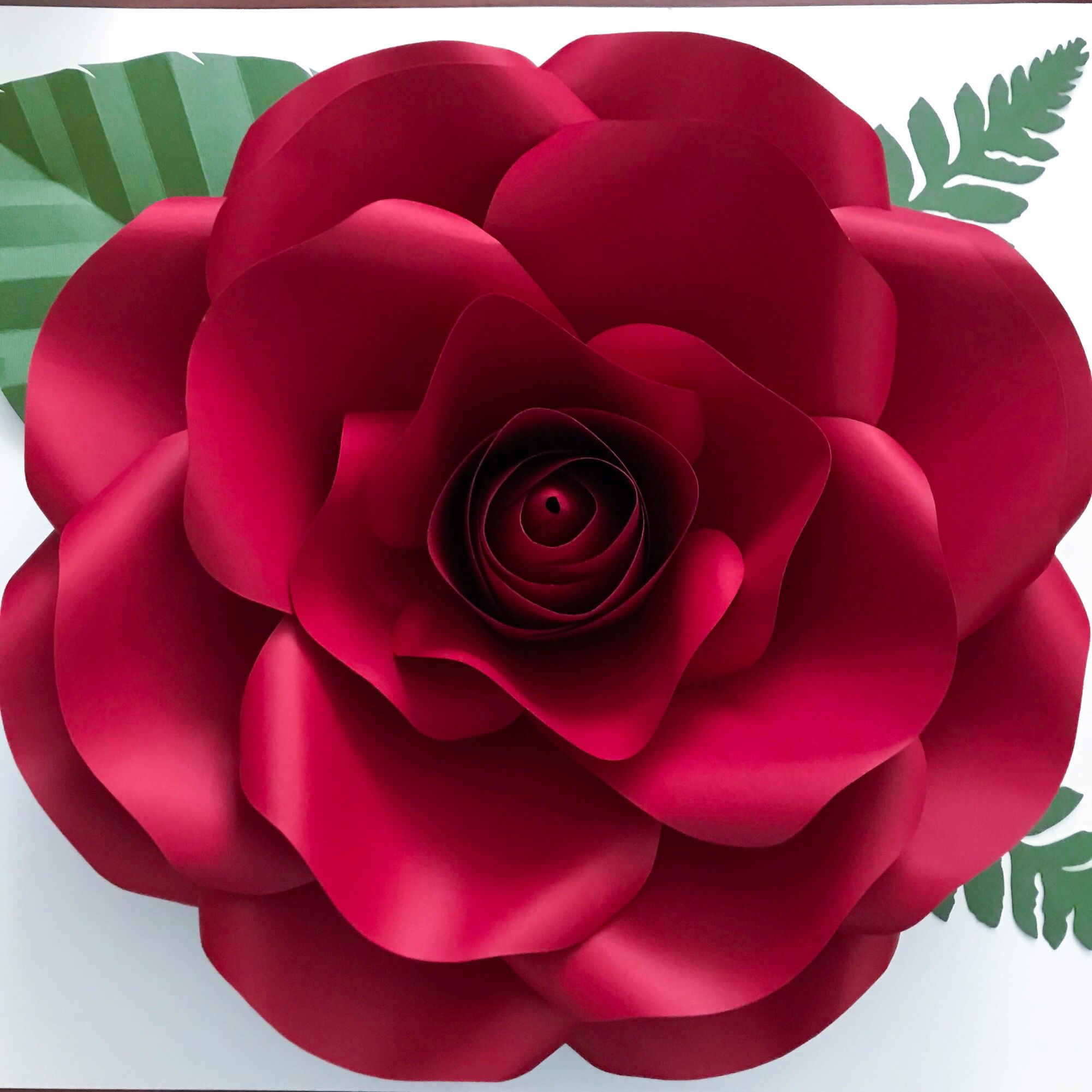 Large paper flower template from the crafty sagittarius