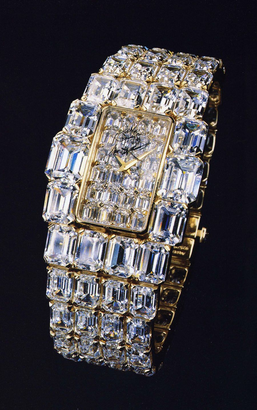 The original 1979 Vacheron Constantin Kallista. At £5 million, it was the most expensive watch ever made at the time and inspired a series of high jewellery diamond watches named Kalla.