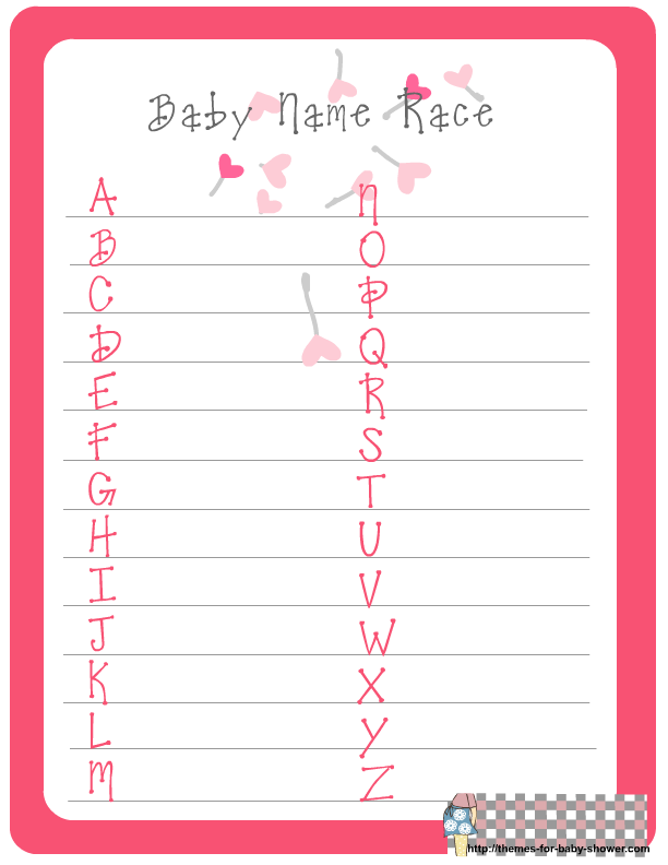 easy baby shower games shower baby girl baby showers baby shower games