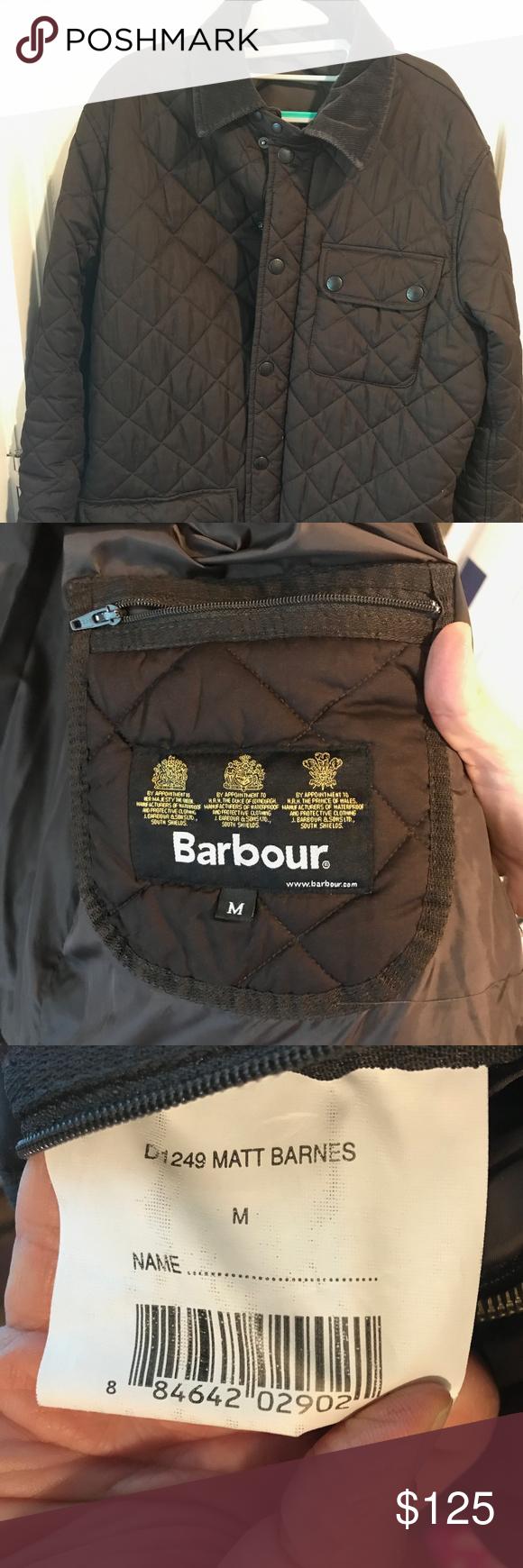 Mens Barbour Jacket - Matt Barnes style - size M | Barbour ...