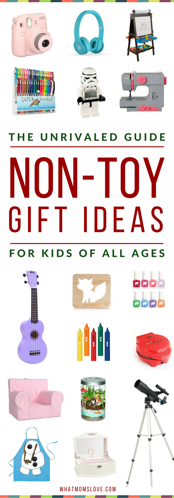 overloaded with toys learn over 200 incredible gift ideas for kids that arent toys in this awesome non toy gift guide perfect for toddlers to tweens and