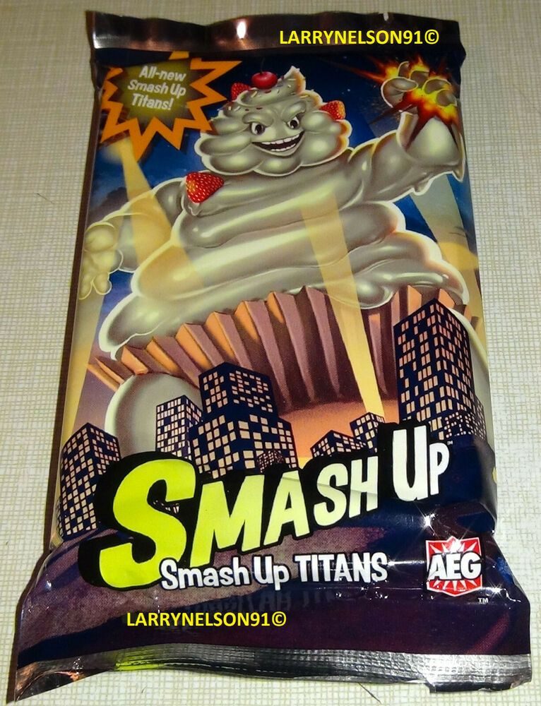 Smash Up Titans Sealed Promo Cards Set of 16 OP Organized Event Kit Smashup