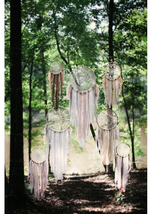 Mariage : 35 idées déco de jardin dénichées sur Pinterest ...