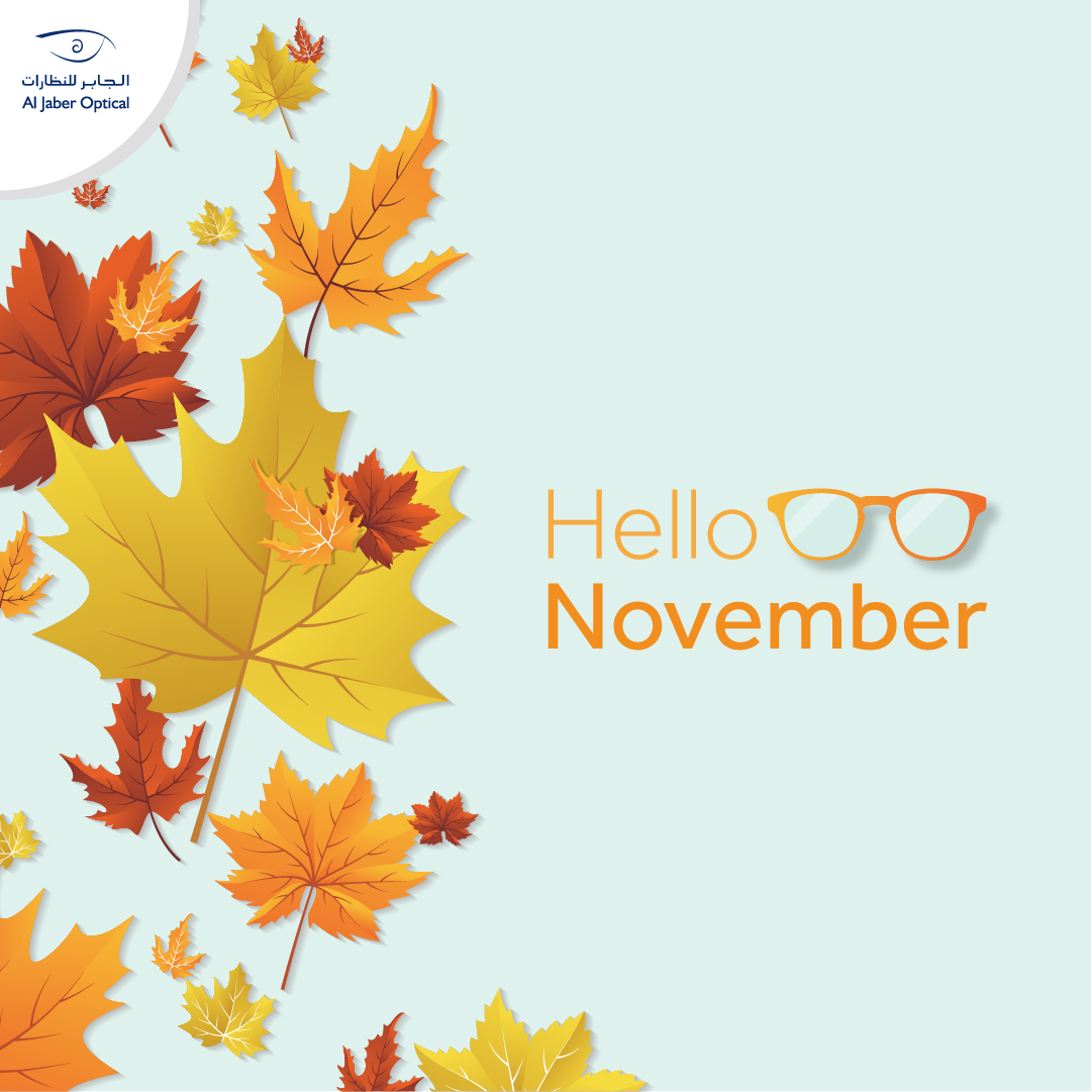 Hello November!🍂 Please be awesome! Who's celebrating his