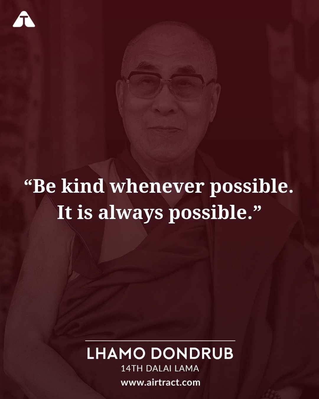Quote Dalai Lama Kindness