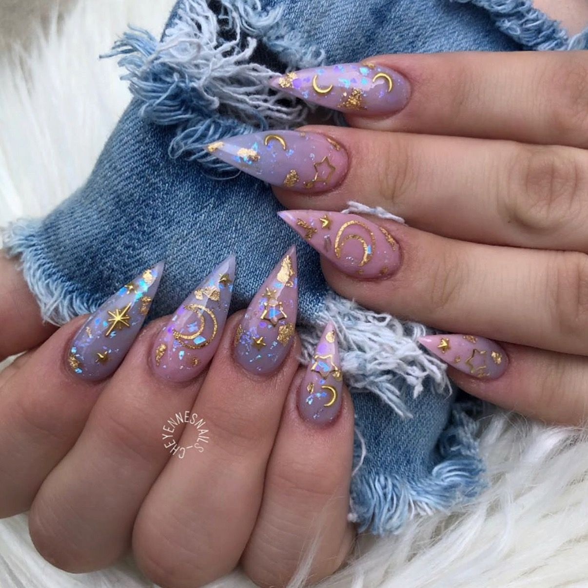 Pin by Salena McCoy on Acrylic nails in 2020 | Halloween ...