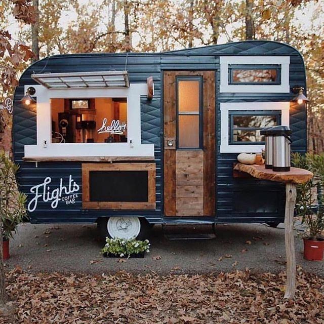 Coffee Van Goals Tag A Friend That Will Love This Alternativebrewing By Cornysfinest Blackcoffee Aeropre Food Truck Coffee Food Truck Food Cart Design