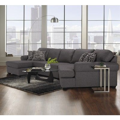 Decor Rest Graphite Grey Sectional 2566 2583 Canada Online At Shop Ca 905594 You Ll Love Relaxing Living Room Furniture Living Room Collections